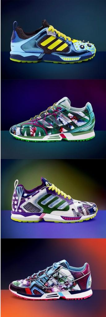 Mary Katranzou x Adidas trainers
